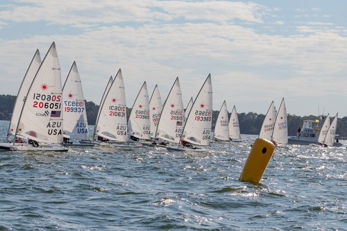 2019 Laser Masters Start - Photo by Paul Almany