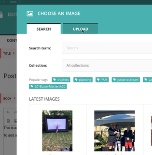 New NEWS Page - form 3 Choose Image